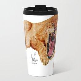 lion 6 Travel Mug