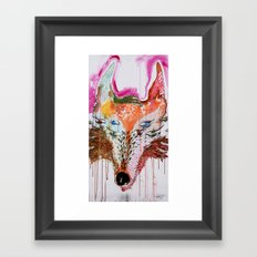 Summer Wolf Framed Art Print