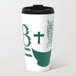 B Plus Owl is Bowl Travel Mug