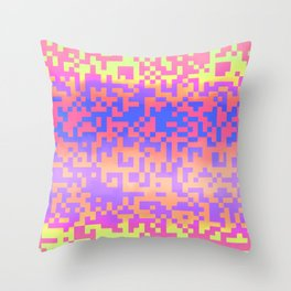 Mixed Emotions 2 Throw Pillow