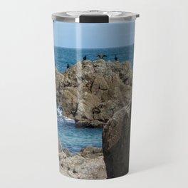 Cornish Cormorants Travel Mug