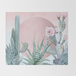 Desert Sunset by Nature Magick Throw Blanket
