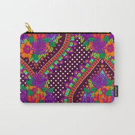 Ivy Purple Carry-All Pouch