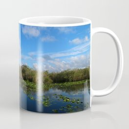 Blue Hour In The Everglades Coffee Mug
