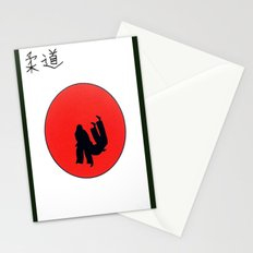 Art Of Judo Print Stationery Cards