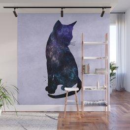 Galactic Cat Wall Mural