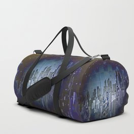 Walls in the Night - UFOs in the Sky Duffle Bag