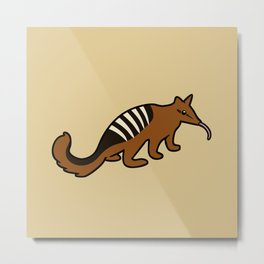 Cute Numbat Metal Print