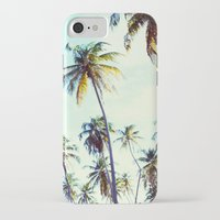 palm iPhone & iPod Cases featuring Palm by Sol&Co