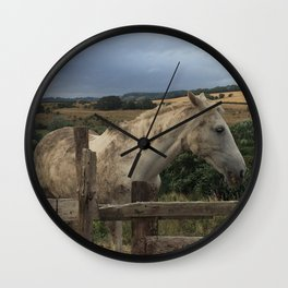 Been Rolling In Mud Wall Clock