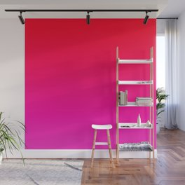 Red & Violet Color Gradient Wall Mural