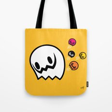Halloween series - Popping Ghosts Tote Bag