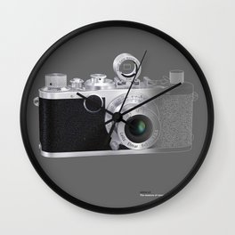 LEICA LC in Context Wall Clock