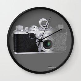 LEICA LC in Context Wall Clock