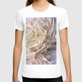 Sparkly Clear Magical Unicorn Crystal Shards T-shirt