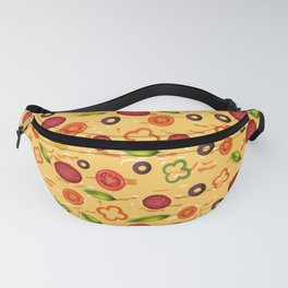 Pizza Background - Pizza wallpaper Fanny Pack