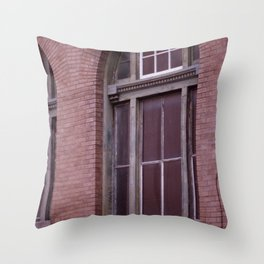 Window Arch in the Marigny Throw Pillow