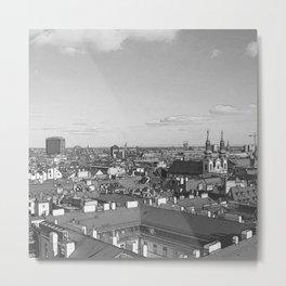 Austria - sketchy Vienna 4 Metal Print