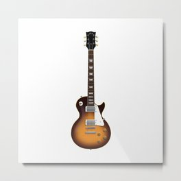 Sunburst Electric Guitar Metal Print