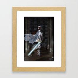 The Brave Knight Framed Art Print