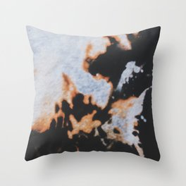slow burn Throw Pillow
