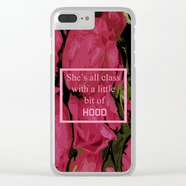 She's all that! Clear iPhone Case