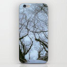 Greenwood Fog iPhone Skin