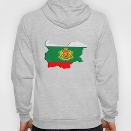 Bulgarian map Hoody