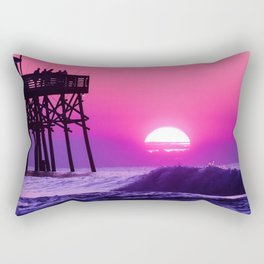 Beach Watch Rectangular Pillow