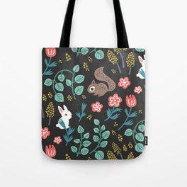 Dark Meadow Tote Bag