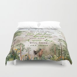But in the end Duvet Cover