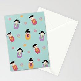 Kawaii Dolls Stationery Cards