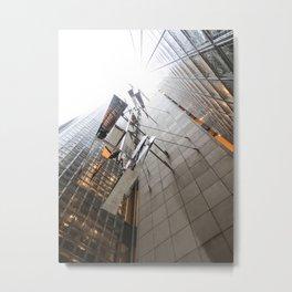 Maison Hermès Tokyo by Renzo Piano Metal Print