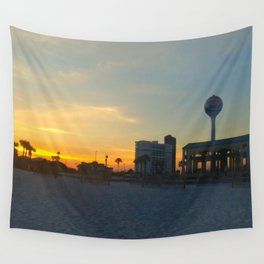 Sunset in Pensacola Wall Tapestry