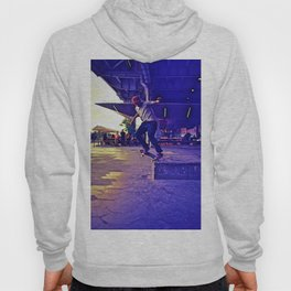 Colorful Skater Hoody