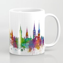 Lubeck Germany Skyline Coffee Mug