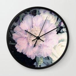 SOFT TOUCH - Purple Flower #1 Wall Clock