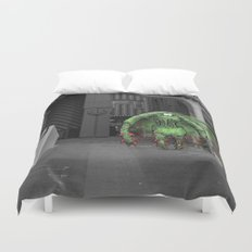 Unseen Monsters of Melbourne - Thorn Duvet Cover