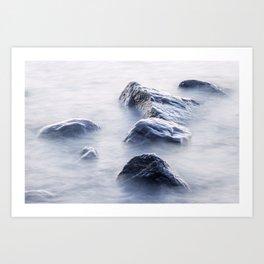 Lake Superior Boulders Art Print