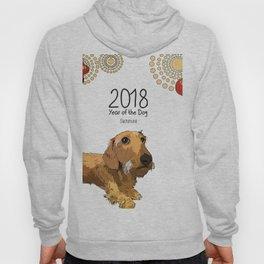 Year of the Dog - Dachshund Hoody