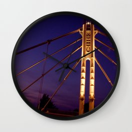 North Ave. Bridge Wall Clock