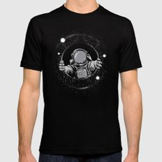 Black Hole MEDIUM Mens Fitted Tee Black