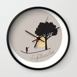 Lighthearted Wall Clock