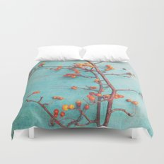 She Hung Her Dreams on Branches Duvet Cover