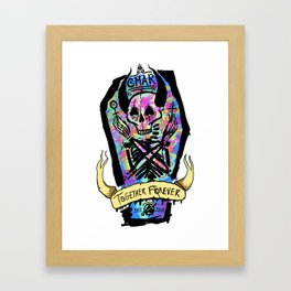 and ever and ever and ever Framed Art Print