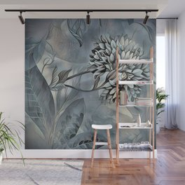 Barely Blue Wall Mural