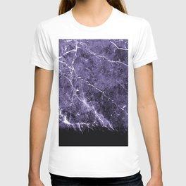 Ultra Violet Marble #1 #decor #art #society6 T-shirt