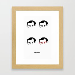 Zelig Framed Art Print