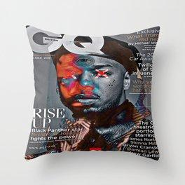 g b l k q Throw Pillow