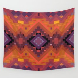 American Native Pattern No. 136 Wall Tapestry